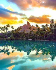 Bora Bora, French Polynesia 👍 katalay.net/amazing-places/ #BoraBora #FrenchPolynesia Bora Bora Island, Long Lake, Marvel Villains, Christmas Town, Beautiful Places In The World, French Polynesia, South Pacific, Heaven On Earth, Wyoming