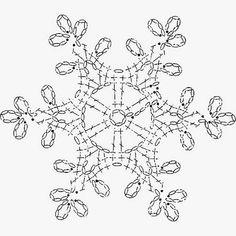 Billedresultat for crochet snowflake chartSet of 6 crochet snowflakes crochet by SevisMagicalStitches - SalvabraniCrochet Patterns Christmas Crochet picture result for stars freeSome snowflakes patterns I liked (not mine) - Salvabrani Crochet Snowflake Pattern, Crochet Motifs, Crochet Snowflakes, Crochet Diagram, Thread Crochet, Crochet Doilies, Crochet Flowers, Crochet Lace, Crochet Stitches