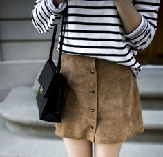 How To Style The Button-Through Skirt For Winter