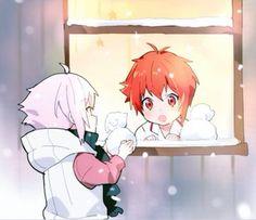 Ten et Riku Anime Chibi, Kawaii Anime, Anime Art, Manga, Natsume Yuujinchou, Bishounen, Kawaii Drawings, Some Pictures, Hello Everyone