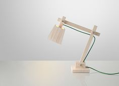 TAF _  Wood Lamp  The Wood Lamp was originally designed as a limited edition for an installation for RH Chairs is now put into production by the Danish Company Muuto. The Wood Lamp is also part of the Danish Design Museum.