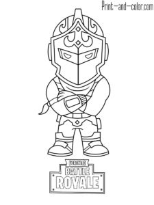 Fortnite Coloring Sheets To Print