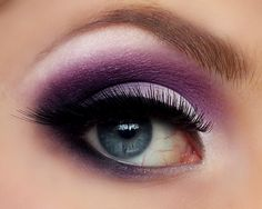 perfect purple and luxe lashes