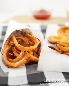 Oven baked curly fries that taste as good as Arby's! #lmldfood #copycat