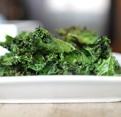Make Your Own Kale Chips… Easy as 1, 2, 3
