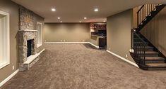 open basement