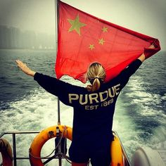 Oh China! Enjoying a boat ride on the Red Sea! West Lafayette, Purdue University, Red Sea, Boiler, Study Abroad, Studying, Boat, China, Explore