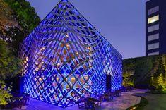 Tori-Tori Restaurant exterior in Mexico City by architect Michael Rojkind and Esrawe design studio
