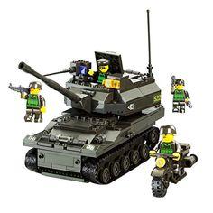 BXT Toy Tank Panzer Vehicle Model Building Blocks Bricks ... https://www.amazon.com/dp/B01LAXHF3A/ref=cm_sw_r_pi_dp_x_4yqmybXEWSTQB
