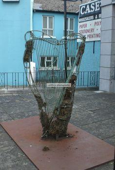 Dublin, Ireland. Harp.