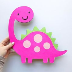 Dinosaur Cutout - Extra Large - Centerpiece - Dinosaur Decor - Party Decorations Add on to your Dinosaur party with this large centerpiece! You can use this large cutout for all kinds of things! Need more Dinosaur decorations? Daycare Crafts, Toddler Crafts, Preschool Crafts, Crafts For Kids, Arts And Crafts, Paper Crafts, Dinosaur Crafts, Cute Dinosaur, Dinosaur Decorations
