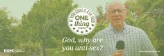 """""""God, why are you anti-sex?"""" - Watch & share our latest video"""