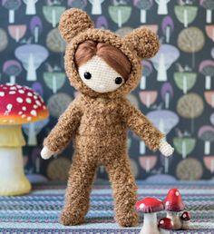 My Crochet Doll Isabelle Kessedjian