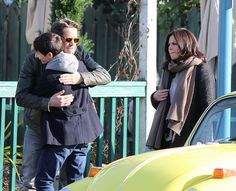 Jared, Sean & Lana on set - March 3, 2015
