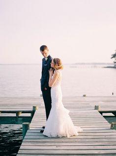 Classic Black Tie Nautical Wedding   Nikki Santerre Photography on @glamourandgrace via @aislesociety