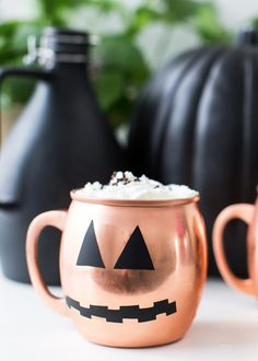 DIY Halloween glassw
