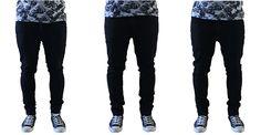 WasGeeeht!!! Ein Mode Blog für Männer: Herrenmode und Lifestyle: 3 schwarze Skinnyjeans in Größe 32/30