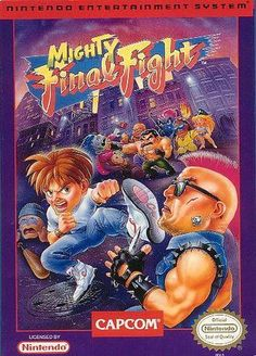 Mighty Final Fight- NES, Capcom