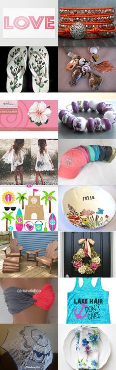 Summer Loving by Melissa R on Etsy--Pinned with TreasuryPin.com