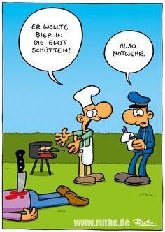 home cartoon Grill bbq bier glut - home Theodd1sout Comics, Haha, Funny As Hell, Funny Bunnies, Good Humor, Just Smile, Man Humor, Satire, Comic Strips