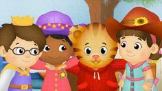 """""""In some ways we are different, but in so many ways we are the same."""" Daniel Tigers Neighborhood best show out there for kids!"""