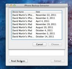 How to Recover Lost Data on Your iPhone Using iPhone Backup Extractor