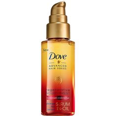 Amazon.com: Dove Advanced Hair Series Serum-In-Oil, Regenerative... (16 BAM) ❤ liked on Polyvore featuring beauty products and haircare