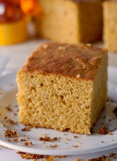 PumpkinCornbread - My husband says cornbread does not require pumpkin. Oh, I think it does!
