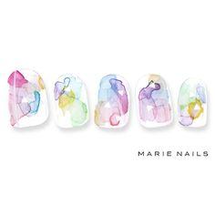 マリーネイルズ #marienails #ネイルデザイン #かわいい #ネイル #kawaii #kyoto #ジェルネイル#trend #nail #toocute #pretty #nails #ファッション #naildesign #ネイルサロン #beautiful #nailart #tokyo #fashion #ootd #nailist #ネイリスト #ショートネイル #gelnails #東京 #夏ネイル #summer #たらしこみ #art @mery_naildesign
