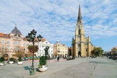 City of Novi Sad - Northern Serbia Great Places, Places Ive Been, Places To Visit, Wonderful Places, Serbia Travel, Walking Routes, Novi Sad, World Cities, Serbian
