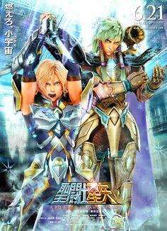 Saint Seiya Legend of Sanctuary 『聖闘士星矢 Legend of Sanctuary』Aquarius Camus :: Cygnus Hyoga