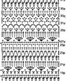 Discover thousands of images about by marion Crochet Baby Dress Pattern, Crochet Motif Patterns, Crochet Diagram, Crochet Chart, Crochet Designs, Pull Crochet, Gilet Crochet, Diy Crochet, Crochet Wall Hangings
