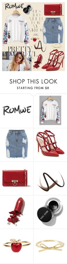 """""""Bez naslova #218"""" by sabina-mehic123 ❤ liked on Polyvore featuring Rika, Valentino, Burberry, LAQA & Co. and Alison Lou"""