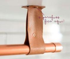 Aprenda a fazer um cabideiro estiloso para enfeitar a sua casa!