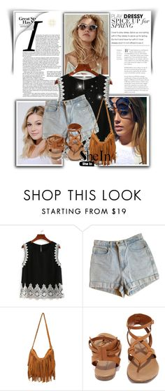 """""""SheIn"""" by maidaa12 ❤ liked on Polyvore featuring Neutrogena, American Apparel and Breckelle's"""
