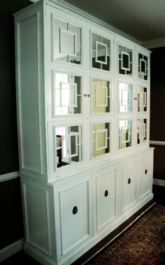 Thinking about painting my hutch, similar to this one.  Mine is from the early 1900s, in good condition.