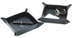 Praktischer Taschenleerer für Ihre Utensilien, mit 4 Druckknöpfen. Innen und aussen aus Leder gefertigt. (Ohne Inhalt) H A N D M A D E   I N   G E R M A N Y