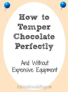 Chocolate tempering