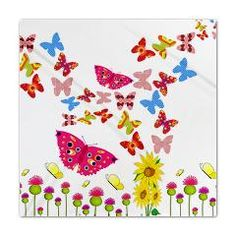 Butterfly Fantasy Queen Duvet from Stir Crazy