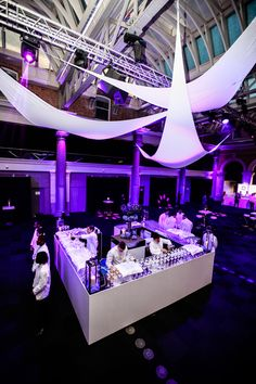 Old Billingsgate - Nautical Awards Show - Design and dressing - The Honest Group, Production Fabled Events