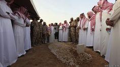 Family members of Saudi Crown Prince Sultan bin Abdulaziz al-Saud, who died in America on Saturday, performed final prayers at his grave at Al Oud cemetery in Riyadh.