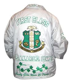 See photos of awesome line jackets, Greek paddles, sweaters, and other unique fraternity/sorority merchandise we've created over the years. Greek Paraphernalia, Greek Paddles, Alpha Kappa Alpha Sorority, Line Jackets, Fraternity, Girls Wear, Pretty Girls, Photo Galleries, Pearls