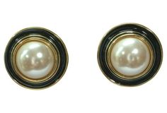 Givenchy Classic Cabochon Earrings