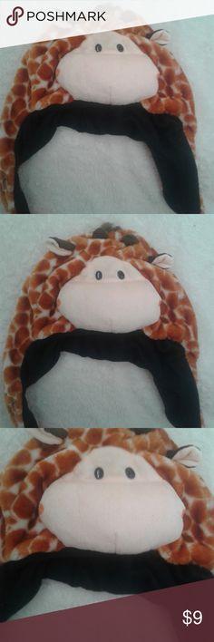 Giraffe hat Cute kids giraffe hat. Only worn once. Accessories Hats