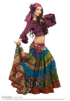 30 Cute Pretty Halloween Princess Costumes For Girls Belly Dance Outfit, Tribal Belly Dance, Belly Dance Costumes, Princess Costumes For Girls, Girl Costumes, Dance Outfits, Cool Outfits, Gypsy Outfits, Gypsy Style