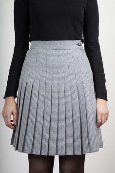 #Houndstooth skirt