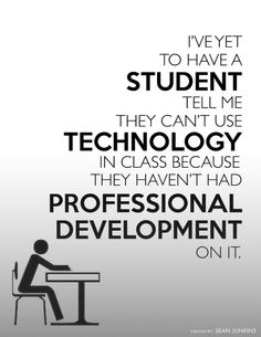 Students Don't Ask for PD. #ISTE2014 via @sjunkins