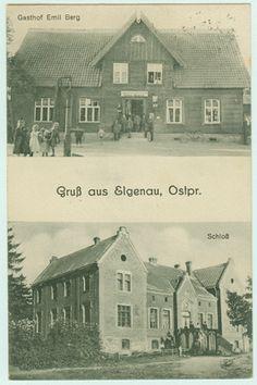 Elgenau, Schloss und Gasthof Emil Berg