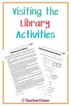 Visit the library with your class, and use the activities in this printable to teach your students how to use a card catalogue! This library printable is perfect for 2nd-5th grade teachers. Library Activities, Reading Resources, Reading Skills, Teacher Resources, 5th Grade Teachers, 5th Grades, Teaching Tips, Learn To Read, Reading Comprehension