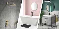bathroom 2021 – Szukaj wGoogle Best Bathroom Designs, Amazing Bathrooms, Vanity, Mirror, Google, Furniture, Home Decor, Dressing Tables, Powder Room